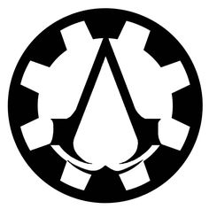 Steampunk Assassin's Creed Symbol Design 1 by *Eryn-Grace-OMalley on deviantART