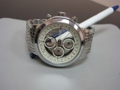 See-thru dial watch #MensWatch #Awesome #Fashion