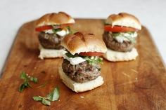 Lamb Sliders for Your Labor Day Barbecue