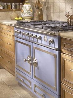 Purple Stove  La Cornue Stoves | Williams-Sonoma