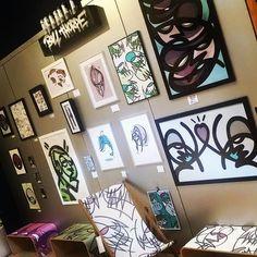 @bill_dirty30  #art #artist #artgallery #allourownwork #painting #streetart #graffiti #posca #acrylic #prints #illustration #characterdesign by allourownwork
