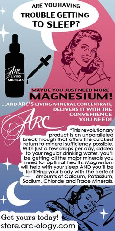 ARC Living Minerals: Your daily dose of high quality, bio-available, great-tasting Magnesium, Calcium and the rest of the essential minerals you need, by adding just a few drops into your daily drinking water, you will notice increased energy and sexual performance, healthier hair, skin and nails, better sleep, decreased risk of stroke and hormonal balancing. Visit us at: https://arclivingminerals.com/ #minerals #naturalremedies #holistic #healthyliving #infographics