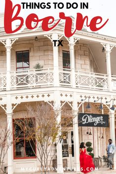 Things to do in Boerne TX this weekend
