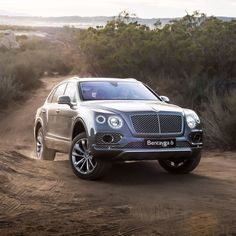 #Bentaygas All-Terrain Specification makes it highly capable both on and off-road. Exterior Paint Colour: Tungsten - photo from @bentleymotors #Bentley #BentleyOrlando #FieldsMotorcarsOrlando #FieldsMCO #Orlando #Florida
