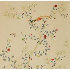 By Fromental:  Painted on Silk - Spottswoode
