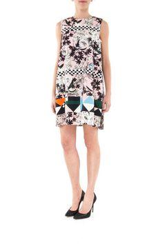 Msgm silk dress - LuxuryProductsOnline