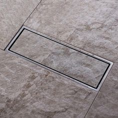 Image result for invisible tile drain
