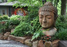 Lush, leafy East Dallas property inspires with art, water-conserving features