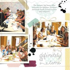 07/25/13 Blog Post - Welcoming demonstrators from around the world to the Home Office at Stampin' Up!
