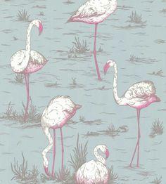 Flamingo wallpaper - Cole and Son
