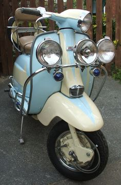 YES PLEASE! Lambretta Li Series 3 Custom - original 1960's Italian Mod Scooter. Just under £5000