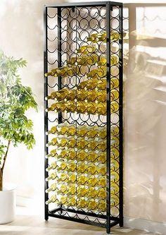 Das schönste Flaschenregal. Das wäre einfach optimal für meine Küche. Nicht nur für Wein- sondern auch z.B. Wasserflaschen!