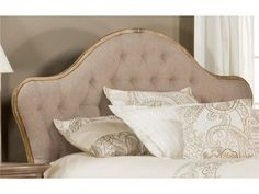 Hillsdale Furniture 1206-570 Jefferson Headboard- Queen - Rails not included