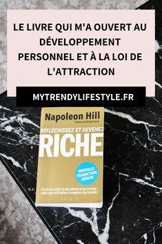 Le livre qui a changé ma vie - Best Pins Live Napoleon Hill, Psychology Love, Psychology Experiments, Burn Out, Body And Soul, Positive Attitude, Motivation, Personal Development, Fun Facts