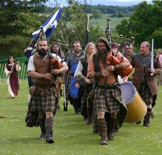 Celebration of William Wallace - love this pic.