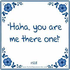 Dutch expressions in English: je bent mij er eentje