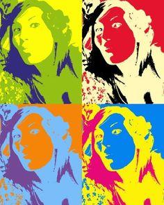 Pics ' Pop Art effect '