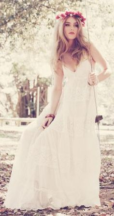 Bohemian Chic Wedding Dress