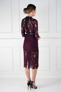 Plum Marisa Dress