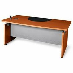 "Milano Series - Designer Desk 36""Dx72""W - Cherry by OFM INC.. $569.00. Milano Series - Designer Desk 36""Dx72""W - Cherry This generous desktop gives you plenty of room to work or organize your files. The modular contemporary design matches almost any office decor, and the scratch-resistant paint finish helps keep it looking great. The 16-gauge steel frame is both strong and sturdy. No tools are required for assembly, so you save on installation costs. 72-1/5""Wx36-1/5""Dx29-1/2""H ..."