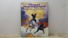 Official Advanced Dungeons and Dragons Oriental Adventures, 1985, vintage sci fi by RandomGoodsBookRoom on Etsy