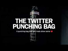 On Valentine's Day, Björn Borg also presents the world's first Twitter Punching Bag. This is an interactive punching bag with a printed alphabet, and it's connected to Twitter. Each letter is touch sensitive, and a punch is one letter in a tweet. The first tweet from this punching bag comes directly from Henrik Bunge, CEO of Björn Borg and it's sent to Mark Parker, CEO of Nike.