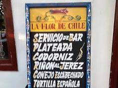 Resultado de imagen para restaurantes chilenos