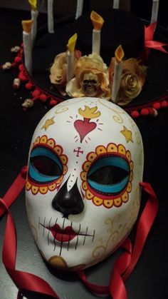 La Muerte The book of Life Mask & Hat Ready to by HikariDesign