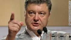 Petro Poroshenko. Ukraine's President vows to defend territory 'no matter what' ...