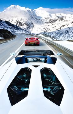 ♂ Luxury Cars to the snow