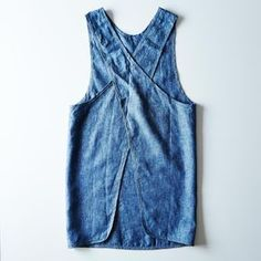 An apron that's tied and true. More
