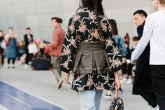 """Photographed by KyungHun Kim. Article: """"The Story Behind Seoul's Latest Street Style Staple"""" by Vogue"""