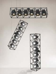 Multilamp tak/golvlampa från SELETTI hos ConfidentLiving.se