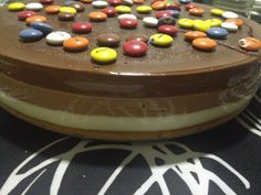 Tarta 3 chocolates con lacasitos!