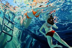 """Samantha French, two, 40x60"""", Oil on canvas, 2015-  Sold"""
