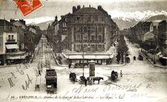 Grenoble / voyage dans le temps