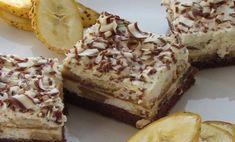 Báječné a krémové banánovo-kávové rezy - Báječné recepty