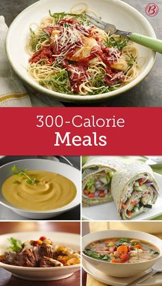 Wholesome, flavorful and totally satisfying — these amazing meals boast fewer calories than you'd expect!