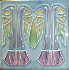 回  Tile o Phile  回   West Side Art Tiles - Art Nouveau gallery