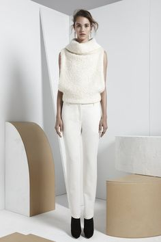 Maiyet Pre-Fall '13 | Inspired by the rich culture of Mongolia and bold work of Constantin Brancusi.