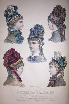 1878 - modèles de chapeaux