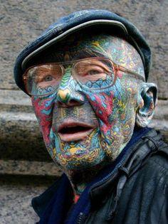 21 Mejores Imágenes De Tatuajes En La Cara Facial Tattoos Worst