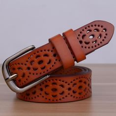 eaa3cd97fe4  17.00 Genuine Leather Belt Leather Fashion