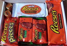 Reese's American chocolate selection gift box hamper Birthdays Christmas present