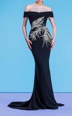 Georges Hobeika - Resort 2018 Ready-to-Wear Collection Special Dresses, Nice Dresses, Long Dresses, Beautiful Gowns, Beautiful Outfits, Party Gown Dress, Designer Gowns, Designer Clothing, Fashion Wear