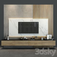 3d models: TV Wall - Cabinet Furniture_055 Tv Unit Interior Design, Tv Unit Furniture Design, Cabinet Furniture, Tv Console Cabinet, Modern Tv Cabinet, Tv Furniture, Luxury Furniture, Tv Cabinet Wall Design, Tv Wall Cabinets