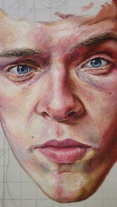A level art Portrait