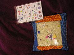 mon I spy bag et son tuto I Spy, Letter Recognition, Montessori, Alphabet, Lunch Box, Creations, Couture, Bags, Vocabulary