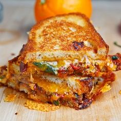 Sweet Chili Chicken Grilled Cheese