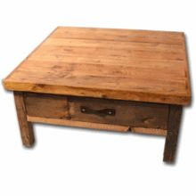 Wasatch Reclaimed Furniture - Black Mountain Square Coffee Table